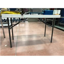 "48"" x 24"" x 29"" collapsible table (table only)"