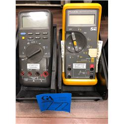 Fluke 79 meter, Fluke 87 meter (test probes not included)