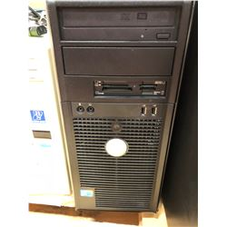 "Dell Optiplex 780 no hard drive or cables , Dell 19"" monitor 1905FP"