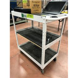"""Rolling tool cart 30"""" x 18"""" x 36"""" (cart only)"""