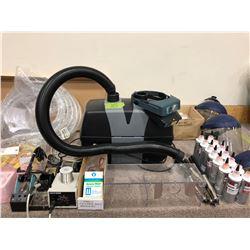Fume extractor, HAKKO 936 solder station, solder tip cleaner, solder spool holder, epoxy 907, 6 part