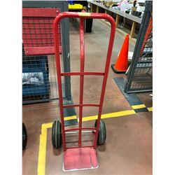 Red wheeler