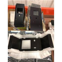 Assorted aluminum panels