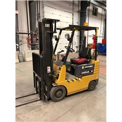 Kramer Caterpillar GC15LP forklift, 3443 hours