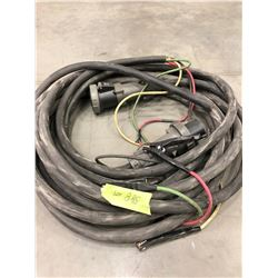 qty 2 #6 -  4Cond cable, 1 with male connector and 1 with female connector,