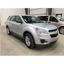2014 Chevy Equinox Silver, Km 71,735, comes with winter tires and rims