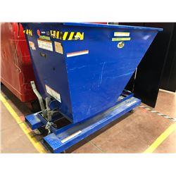 Vestl self dumping hopper with bumper release model D-75-LD