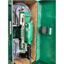 GreenLee 2 speed portable bandsaw 120V, model 531