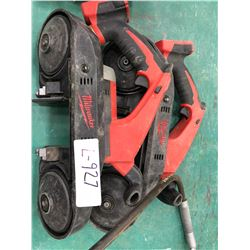 Milwaukee M18 bandsaw model 2629-20, no blades or battery
