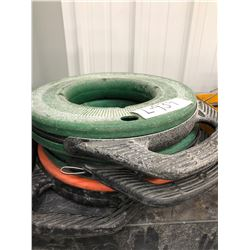 2 GreenLee steel fish tape 125', Klein multi grove fiberglass fish tape