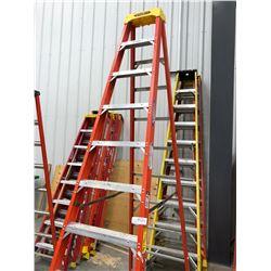 Fiberglass ladders 10' qty 2
