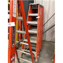 Fiberglass ladders 6' qty 2