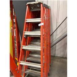 Fiberglass ladders 6' qty 3