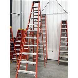 Fiberglass ladders 12' qty 2