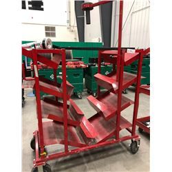 Steel electrical dispensing cart