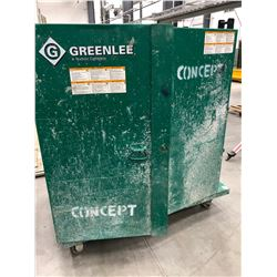 "GreenLee model 5060 MESH Cabinet 48"" x 28"" x 48"""