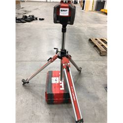 Hilti PRI36 rotating laser comes with case and charger