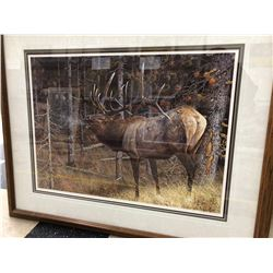 "Carl Brenders - ""A Hunters Dream"", limited edition 543/950, 20x20 image, 31x39 framed"