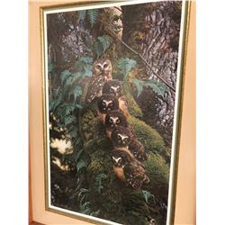 "Carl Brenders - ""The Family Tree"", limited edition 3319/3500, 20x32 image, 31x44 framed"