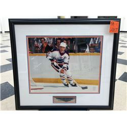 """Wayne Gretzky 99"", Autographed from WGA, Signature has faded, 45/299"