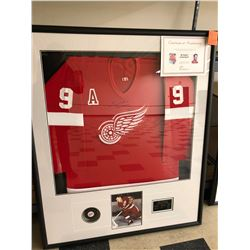 """Mr. Hockey, Gordie Howe"", limited edition Ducks Unlimited, 649/650, 49x41 framed"