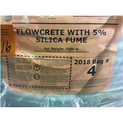 5 Totes - Target Flowcrete c/w Silica Fume & 5% air - 3500 lb each