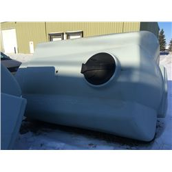Unused appprox 1200 gallon heavy wall poly water tank
