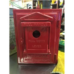 ANTIQUE, NORTHERN ELECTRIC, FIRE ALARM BOX
