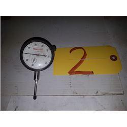 "Starrett No. 25-441 Dial Indicator 0-1"""