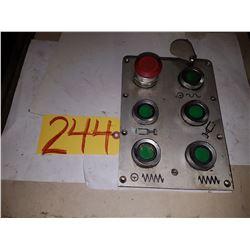 Push Button Module control Board