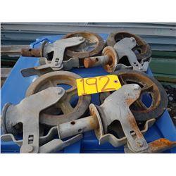 Scafold wheel
