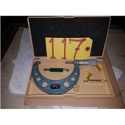 "Mitutoyo 103-218 Micrometer 3""-4"""