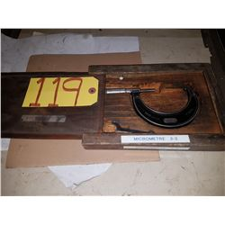 "Starrett No.436 Micrometer 2""-3"""