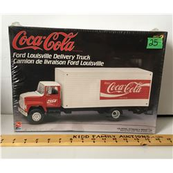 COCA-COLA, TOY DELIVERY TRUCK MODEL - 1/25 SCALE