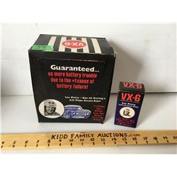 CASE OF 15 VX-6 BATTERY ADDITIVE