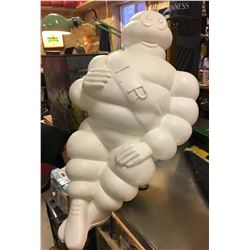 MICHELIN MAN, AUTO OR COUNTER DISPLAY, ILLUMINATING, APPROX 18""