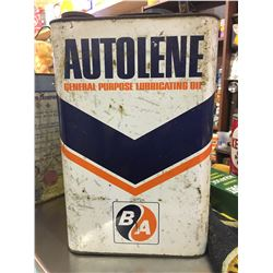 BA, AUTOLENE OIL CAN, 2 GAL