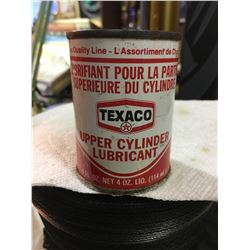 TEXACO, UPPER CYLINDER LUBRICANT CAN, 4 OZ