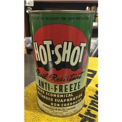 GOODERHAM & WORTS LTD, HOT SHOT ANTI-FREEZE CAN, 1 IMP QT