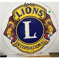 LIONS INTERNATIONAL SSP SIGN, 30""