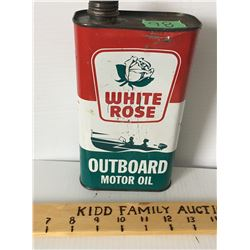 WHITE ROSE OUTBOARD MOTOR OIL, 1 QT