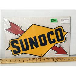 SUNOCO PUMP DECAL, 1972