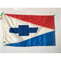 CHEVROLET DEALERSHIP FLAG, BILLER MOTOR CO., OKLAHOMA 1950'S