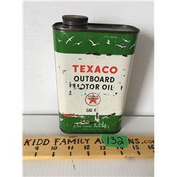 TEXACO OUTBOARD OIL, U.S. QT