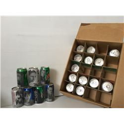 GR OF 20 STAR WARS POP CANS, PEPSI, MOUNTAIN DEW, ETC ALL DIFFERENT