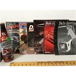 GR OF 6 DALE, DALE JR CALENDARS, BUDWEISER/DALE JR BOTTLE