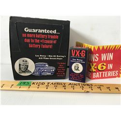 CASE OF VX-6 BATTERY ADDITIVE, LEE PETTY