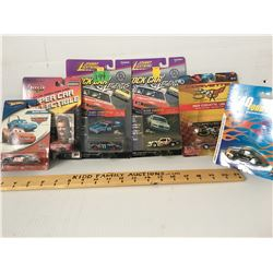 GR OF 6 TOY RACE CARS, NEW IN PACKAGE