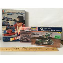GR OF 3, NASCAR PUZZLE, BOOK, MODEL