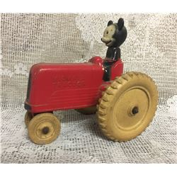 DISNEY, VICEROY SUNRUCO, MICKEY MOUSE RIDING A TRACTOR - MADE IN CANADA
